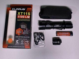 Linterna táctica Klarus XT11S