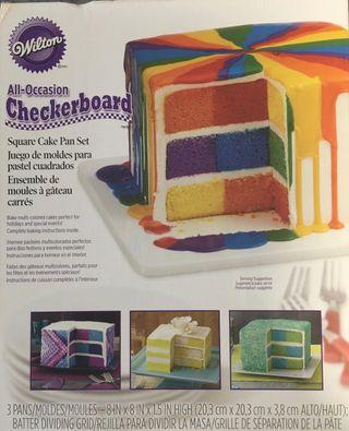 Moldes para pasteles cuadrados