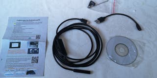 Cámara endoscópica 7MM 2 en 1 Micro USB Min