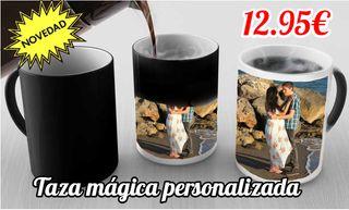 TAZA MAGICA TERMICA PERSONALIZADA