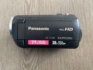 Cámara de vídeo alta definición Panasonic HC-V160