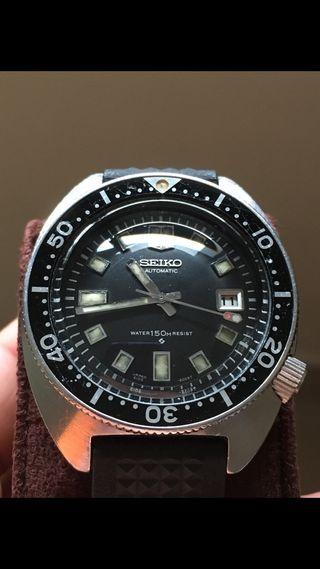 Seiko vintage diver 6105 8009 resist resist!!