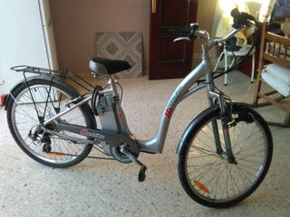 "Bicicleta eléctrica de paseo 26""(Olivares)"