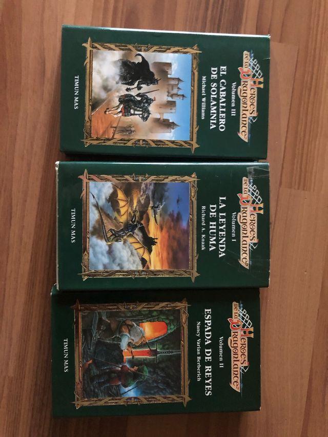 Libros Trilogía héroes de la dragonlance
