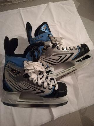 Patines hockey hielo CCM niño