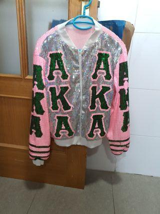 chaqueta de lentejuelas