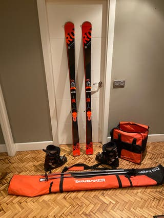 Esqui + Fijaciones Rossignol HD80 184CM
