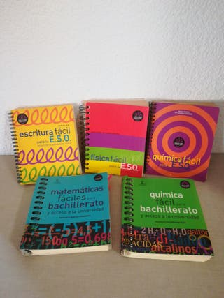 Libros para la ESO y bachiller