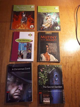 Pack libros diferentes niveles inglés