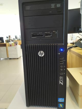 PC HP Z210 CMT Workstation i7 con Windows 10 Pro