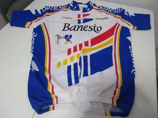 Maillot de Banesto de los años 90