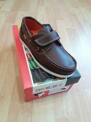 zapatos nautico pablosky número 35