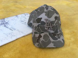 Gorra LA NEW ERA verde militar camuflaje