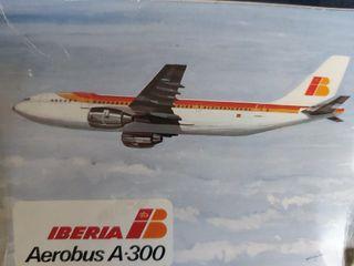 Maqueta de avión Iberia