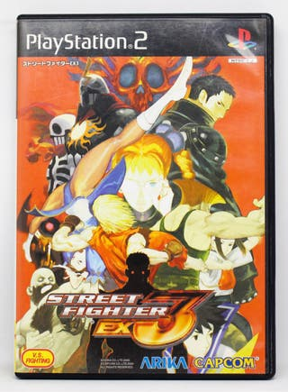 Street Fighter EX3 PlayStation 2 NTSC JAP