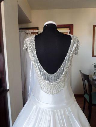 Vestido de novia Luna Novias, Rosa Clará