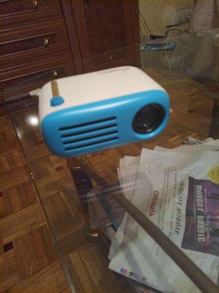 Mini proyector led portable