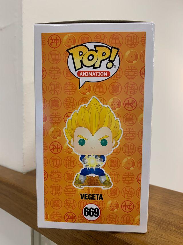 Figura funko pop vegeta limited edition 2019