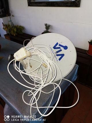 antena parabolica decodificador