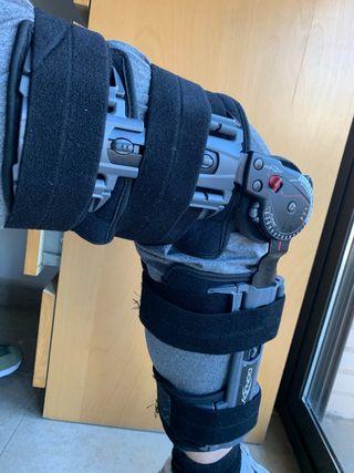 ferula rodilla donjoy ligamentos rotura ortopedia