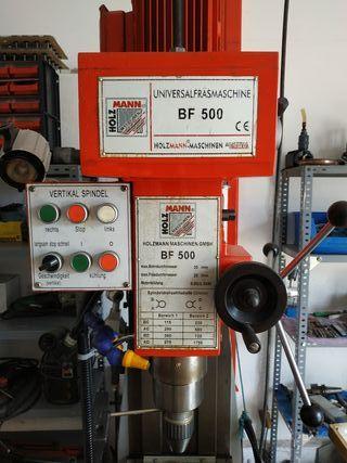 fresadora y taladro industrial 380