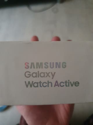 Samsung Galaxy active watch silver