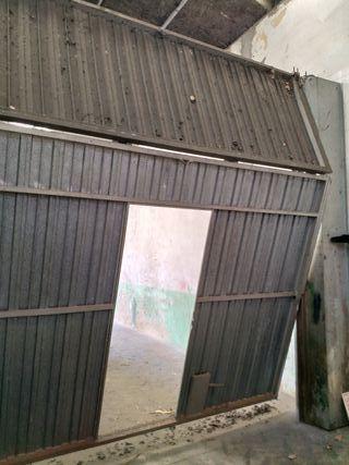 portón plegable de 3,30 x 3,40