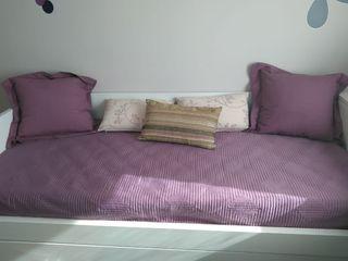 Colcha Zara Home + Cojines