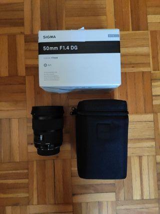 Objetivo Sigma 50mm F1.4 DG HSM Art para Nikon