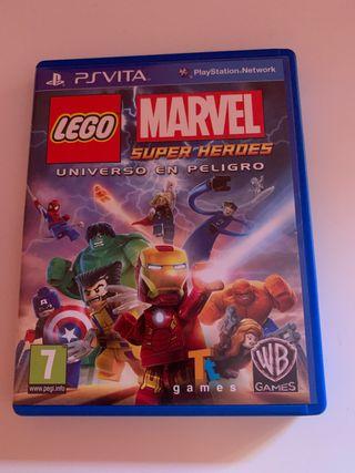 Lego marvel superheroes ps vita