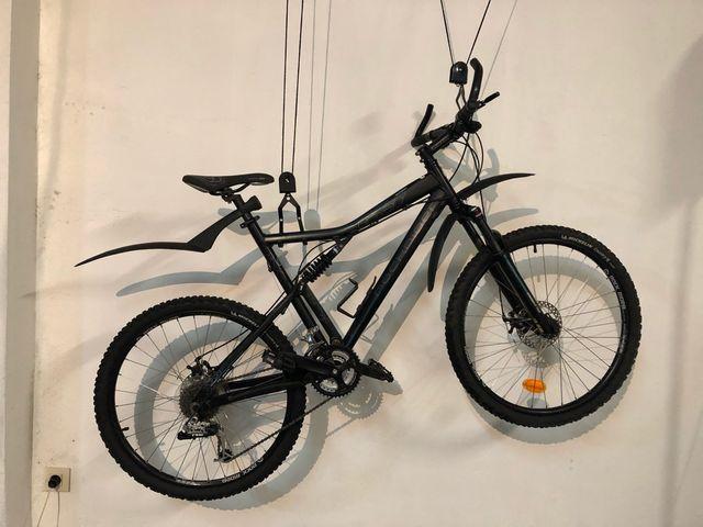 """Bicicleta BTT Rockrider 6.3 26"""". B'Twin. Talla L"""