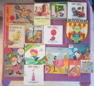 lote 15 libros infantiles