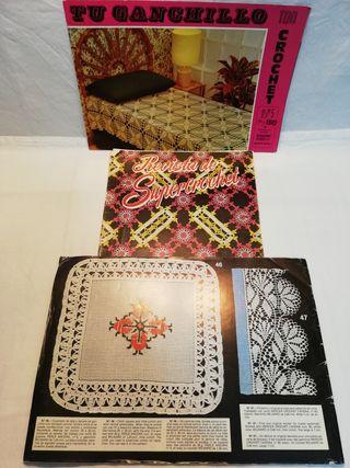 Revistas antiguas Crochet