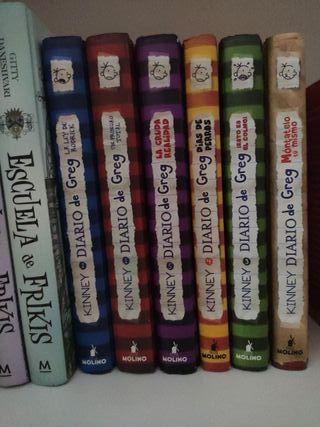 Colección de libros de Diario de Greg