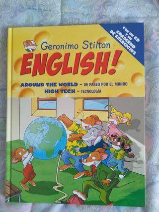 Libro inglés Geronimo Stilton con DVD