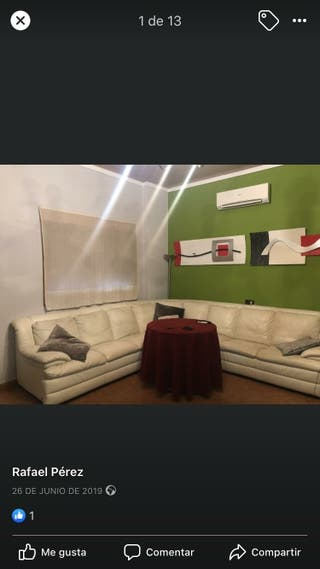 Sofá 9 plazas y sillon Natuzzi