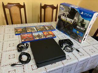 PlayStation 4 + videojuegos