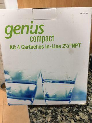 Kit 4 Cartuchos ósmosis