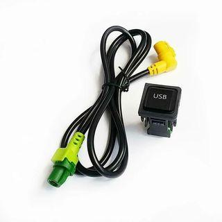 CABLE ADAPTADOR TOMA USB COCHE WV RADIO RCD300 +