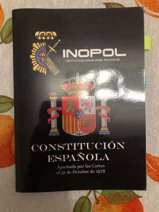Libros oposición policía nacional