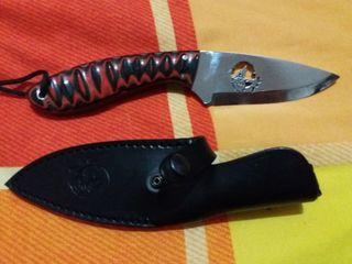 cuchillo JyV lobito, bushcraft, supervivencia