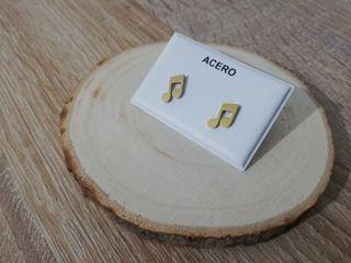 Pendientes Nota Musical