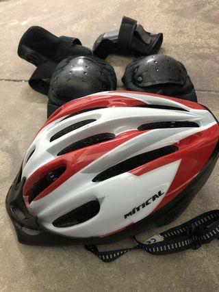 Casco Bicicleta y protecciones