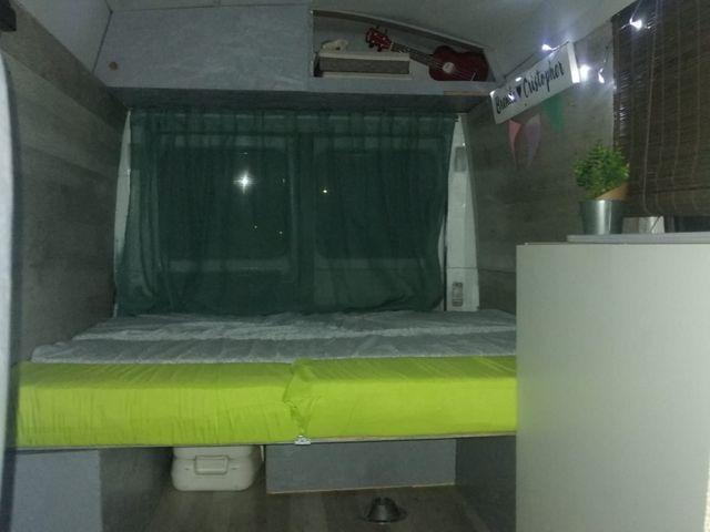 Furgoneta Camper Mb100