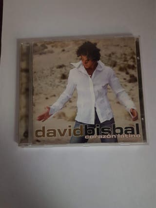 "DAVID BISBAL ""CORAZÓN LATINO"" CD"