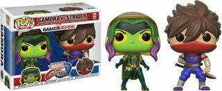 Funko Pop Marvel Capcom Gamora vs. Strider