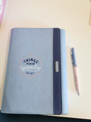 porta agenda cuaderno Mr wonderful
