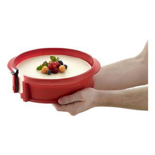 Lekue molde 23cm y plato ceramica