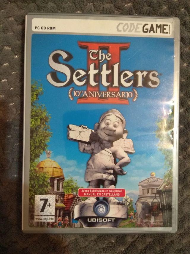 Videojuego The Settlers II NUEVO