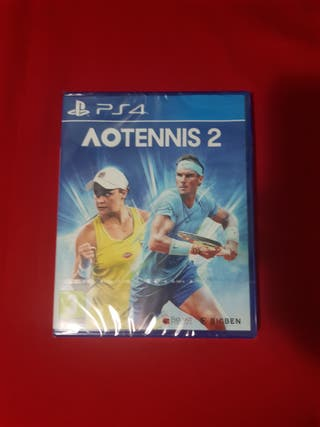 Ao Tennis 2 ps4 precintado